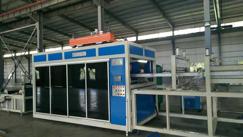 全自动淋水片生产设备,环保设备,淋水片成型机